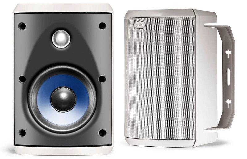 The Polk Audio Atrium 4 Speakers Indoor Oudoor Speakers