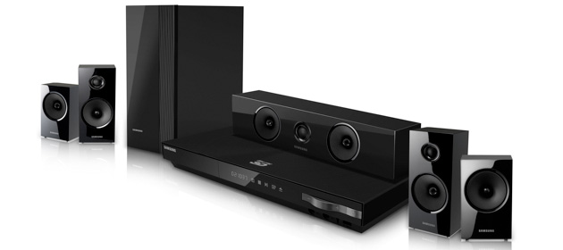 Samsung HT-E5500W HTIB 5.1 Channel 3D Blu-ray 1000-Watt Home Theater System