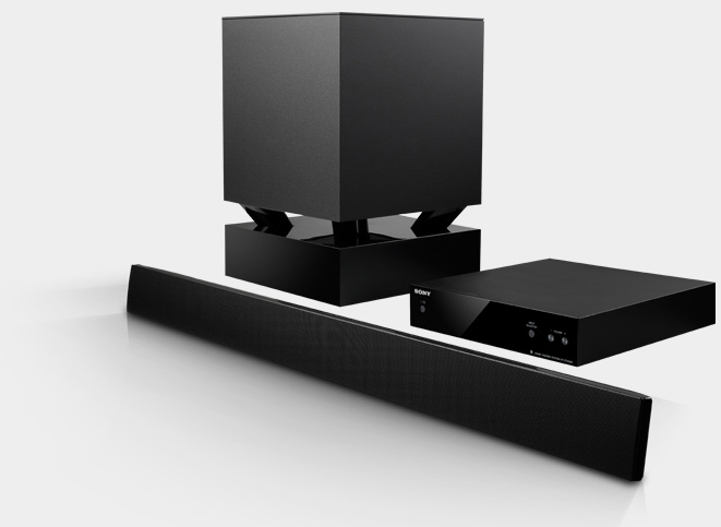 Sony HTCT550W 3D Sound Bar Home Theater System