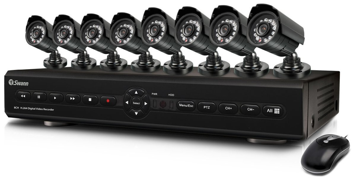 Swann SWDVK-825508 8-Channel Digital Video Recorder Home Security