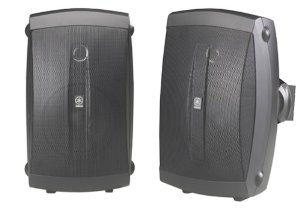 Yamaha NS-AW150BL 2-Way Indoor/Outdoor Speakers
